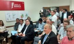 Rodrigo Borla participó de la reunión de la Comisión de Emergencia Agropecuaria.