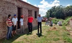 obras en comunas del departamento San Justo.