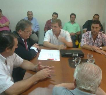 Gobernador Crespo: Fascendini y Borla entregaron aporte económico para compra de un mamógrafo