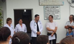 Borla: en Cayastacito y Colonia Silva