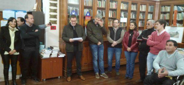 APORTES DEL FONDO DE FORTALECIMIENTO INSTITUCIONAL PARA ENTIDADES DE SAN JUSTO.