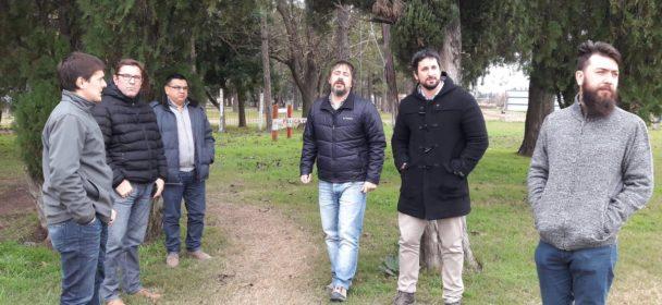 BORLA Y PEANO RECIBIERON AL DIRECTOR PROVINCIAL DE TURISMO.