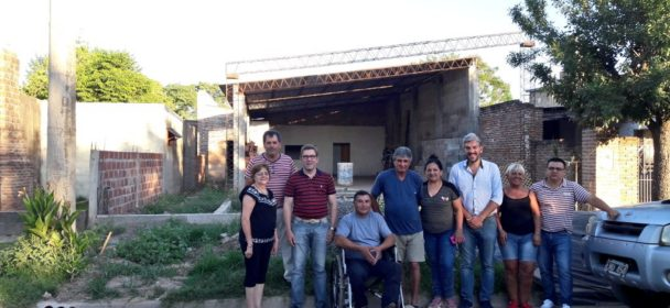 GRANDES OBRAS PARA VECINALES CON APORTES DEL FONDO DE FORTALECIMIENTO INSTITUCIONAL.