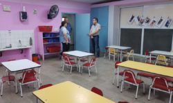 RODRIGO BORLA CON LA COMUNIDAD EDUCATIVA DE VIDELA.