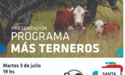 PROGRAMA MAS TERNEROS EN SOCIEDAD RURAL DE SAN JUSTO.