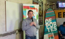 Proyecto de Ley del Senador Rodrigo Borla para beneficio de los clubes con domicilio en la provincia de Santa Fe.