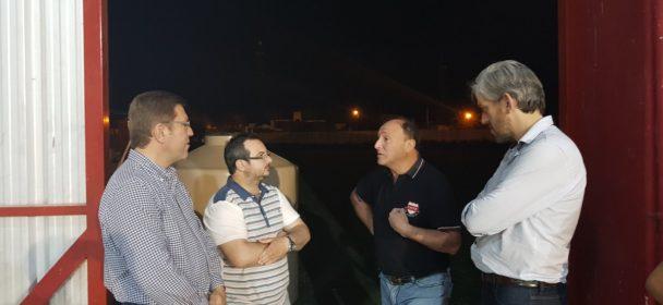 VISITANDO INSTITUCIONES DE SAN JUSTO CON LOS CONCEJALES MATIAS BORLA E IGNACIO ZORZABAL.