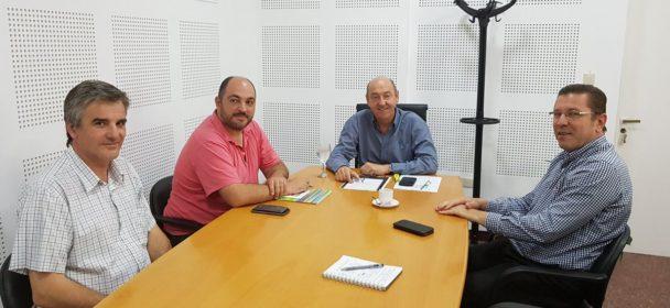 BORLA SE REUNIÓ CON MINISTROS DEL GABINETE PROVINCIAL.