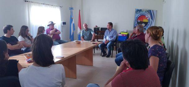 BORLA ENTREGO APORTES ECONÓMICOS A INSTITUCIONES DE LOCALIDADES DEL CENTRO NORTE DEL DEPARTAMENTO SAN JUSTO.