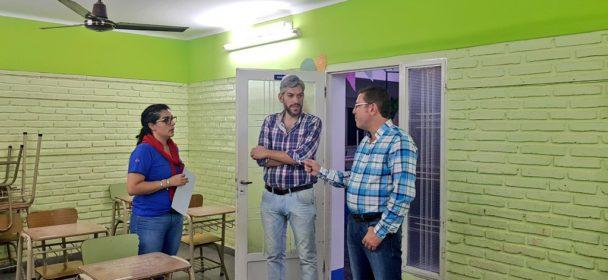 ACTIVIDADES EN SAN JUSTO JUNTO AL PRESIDENTE DEL CONCEJO MUNICIPAL, MATIAS BORLA.