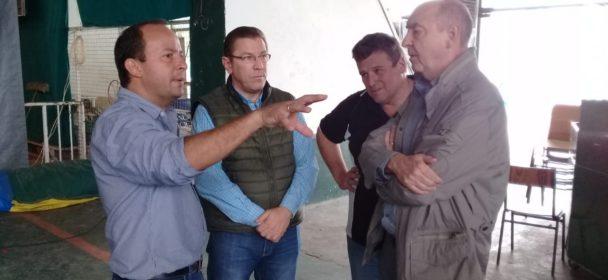 EL MINISTRO DE DESARROLLO SOCIAL DE LA PROVINCIA ESTUVO EN SAN JUSTO.