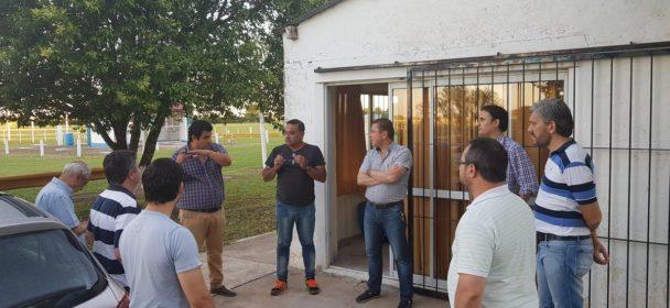 BORLA ENTREGO APORTE AL AEROCLUB SAN JUSTO PARA RECUPERAR EL FUNCIONAMIENTO DE IMPORTANTE ELEMENTO DE VUELO.