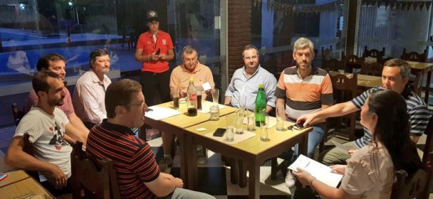 BORLA ENTREGO APORTES PARA DISTINTAS DISCIPLINAS DEL CLUB COLON DE SAN JUSTO
