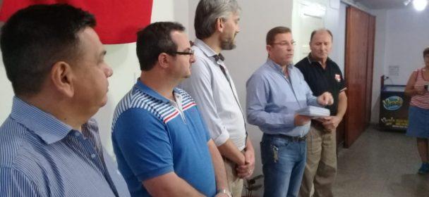 BORLA ENTREGO APORTES DEL FONDO DE FORTALECIMIENTO INSTITUCIONAL EN SAN JUSTO.