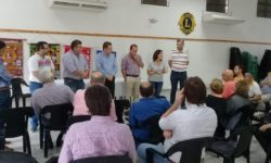 RODRIGO BORLA HIZO ENTREGA DE APORTES DEL MINISTERIO DE DESARROLLO SOCIAL DE LA PROVINCIA A INSTITUCIONES DE SAN JUSTO.