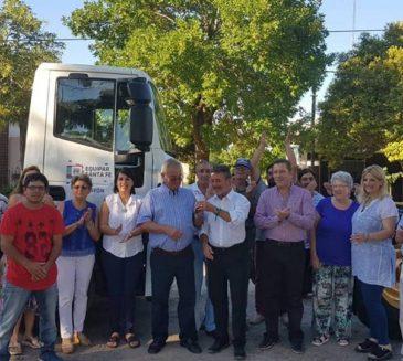 NUEVAS MAQUINARIAS PARA TRES COMUNAS DEL DEPARTAMENTO SAN JUSTO.