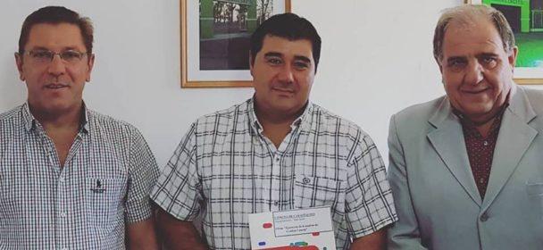 MÁS DE TRES MILLONES DE PESOS PARA OBRAS FUERON OTORGADOS POR EL GOBIERNO PROVINCIAL A COMUNAS DEL DEPARTAMENTO.