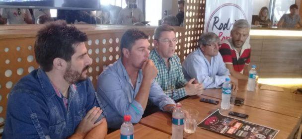 BORLA Y LEMAIRE PRESENTARON EL CRESPO ROCK Y LA FINALISIMA DEL CHAMAMÉ.