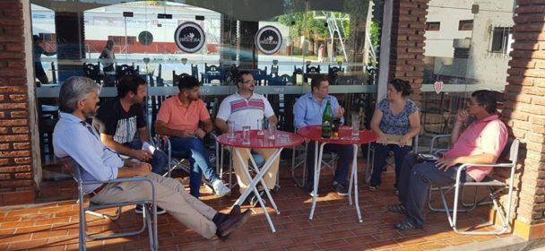 BORLA PRESENTE EN INSTITUCIONES DEPORTIVAS DE LA ZONA.
