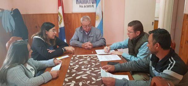 RODRIGO BORLA ESTUVO PRESENTE AYER EN LOCALIDADES DEL NORTE DEL DEPARTAMENTO SAN JUSTO.