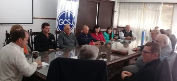 """RODRIGO BORLA: """"HICIMOS UN REPASO DE TODAS LAS GESTIONES QUE CONJUNTAMENTE LLEVAMOS ADELANTE CON LAS COMUNAS"""""""