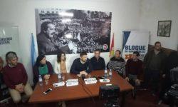 RODRIGO BORLA: DESDE EL FRENTE PROGRESISTA CÍVICO Y SOCIAL QUEREMOS DARLE UN GRAN IMPULSO A LA CANDIDATURA DE ENRIQUE ESTÉVEZ.