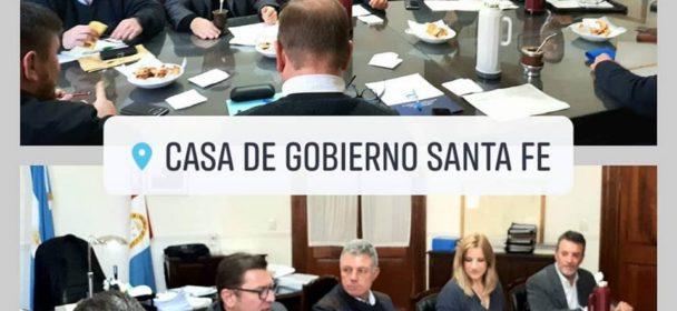 BORLA EN SANTA FE PARTICIPO DE UNA NUEVA REUNIÓN DE LA COMISIÓN DEL FONDO DE OBRAS MENORES.