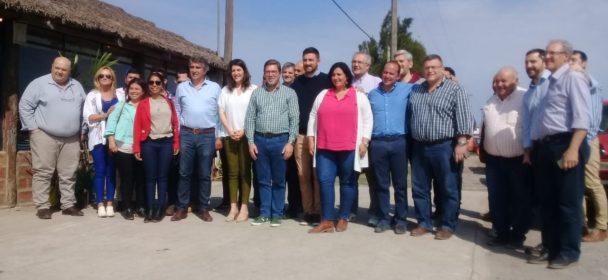 RODRIGO BORLA Y LOS CANDIDATOS A DIPUTADOS NACIONALES DE CONSENSO FEDERAL REALIZARON UNA EXTENSA RECORRIDA POR EL DEPARTAMENTO SAN JUSTO.