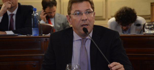 RODRIGO BORLA PRESIDIRA LA COMISIÓN DE SEGURIDAD DE LA CÁMARA DE SENADORES DE LA PROVINCIA.