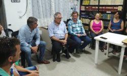 RESUMEN DE ACTIVIDADES DEL SENADOR RODRIGO BORLA EN VARIOS DISTRITOS DEL DEPARTAMENTO SAN JUSTO.