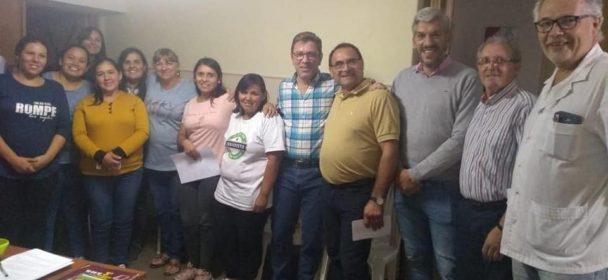 RODRIGO BORLA CON INSTITUCIONES DE GOBERNADOR CRESPO Y SAN JUSTO.