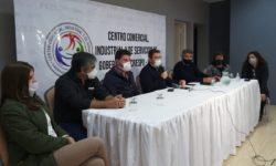 GOBERNADOR CRESPO TAMBIÉN PIDE POR LA HABILITACIÓN DE SECTORES COMERCIALES Y DE SERVICIO.